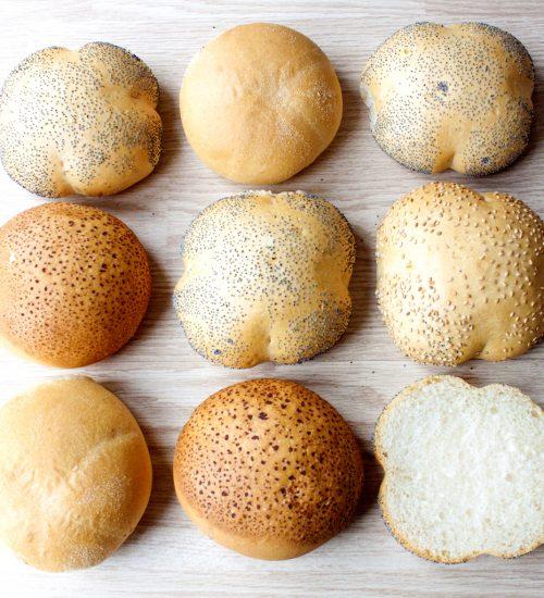 Gesorteerde knapperige broodjes