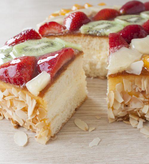 Vruchten taart