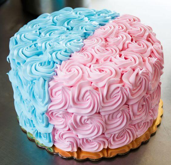 gender taart Gender reveal' taart   Echte Bakker Steehouder gender taart