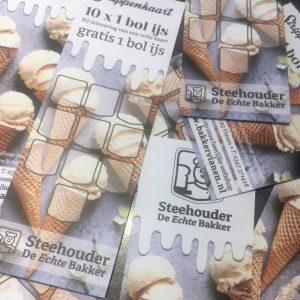 IJs strippenkaart / cadeaubon