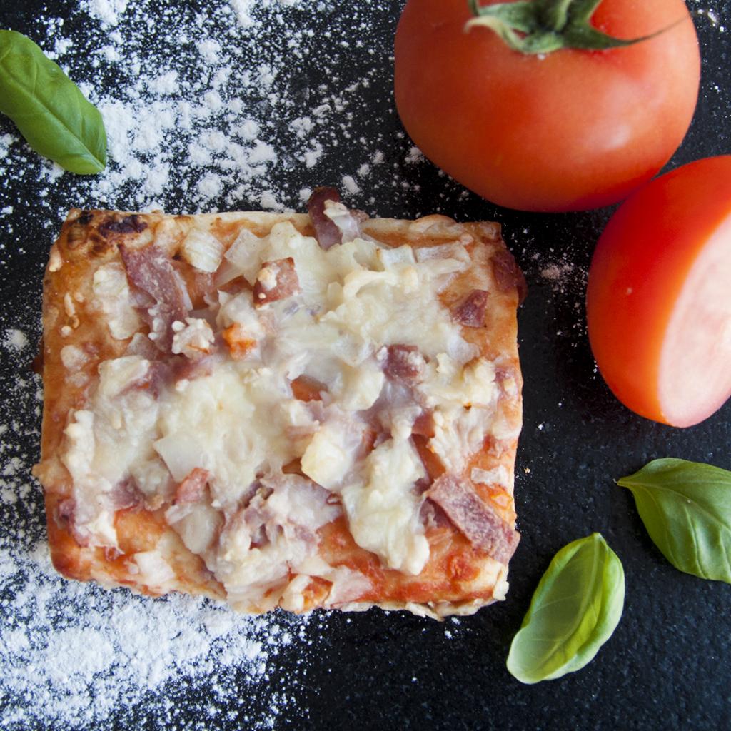 Pizza Slide ham & ui