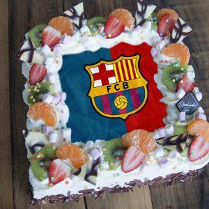 FC Barca (Barcelona) taart