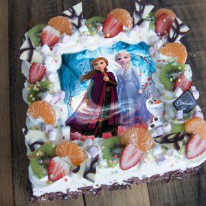 Frozen 2 Anna & Elsa taart