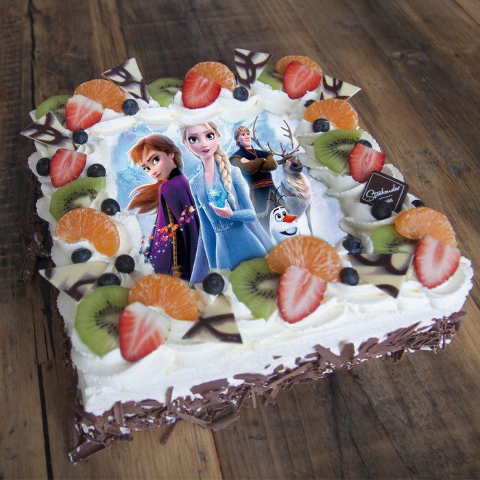 Frozen 2 taart