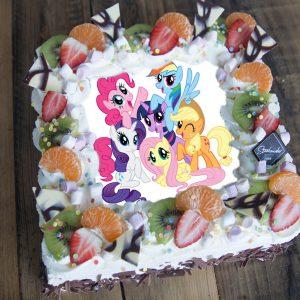 My Little Pony taart